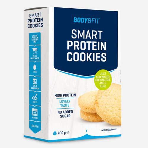 Smart Protein Cookie Backmischung - selbstgebackenen Low Carb und High Protein Cookies