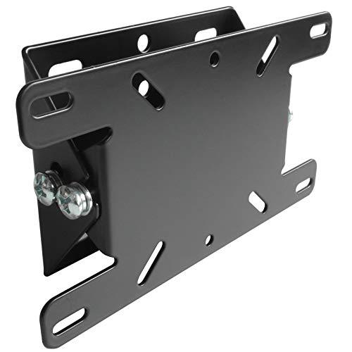DRALL INSTRUMENTS Wandhalterung (neigbar/kippbar) - mit VESA 75 100 200x100 - für 10 bis 31 Zoll (25-80 cm) LED LCD Plasma 3D HD Curved TV Bildschirme und Fernseher - bis 23 kg - schwarz Modell: S57