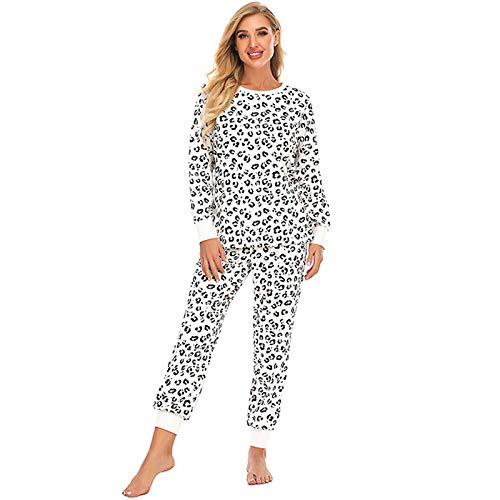 Pijama, otoño e invierno tie-dye mujer manga larga pantalones trajes, ropa para el hogar, pijama casual de mujer, I, XXL