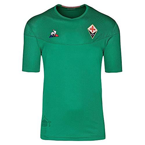 Le Coq Sportif Fiorentina Maillot Pro No SP SS M F Camiseta, Mujer, Vert forez, XS
