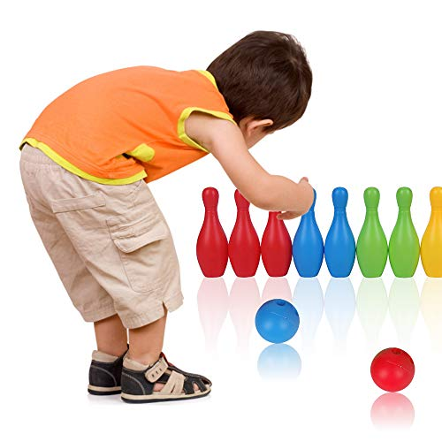 Purchase RIGTMAL Kids Bowling Toys Set Indoor Outdoor Bowling Games Great for Boys Girls