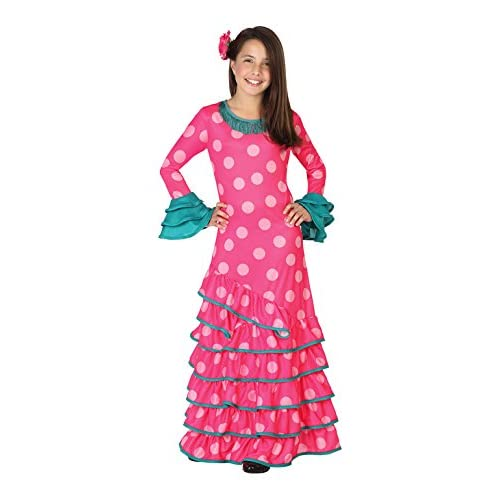Atosa 26536 - Flamenco, rosa, muchacha Tamaño 128, rosa