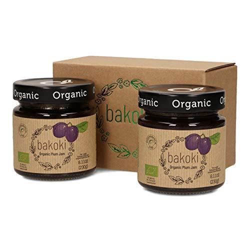 Bakoki® Premium Marmellata di prugne biologica (2 x 230g)