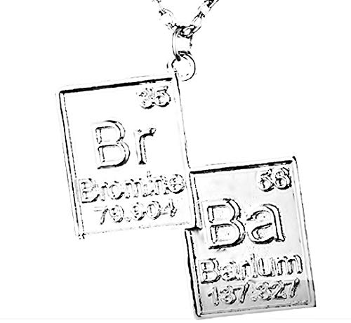 Ketting met br en ba symbolen breaking bad