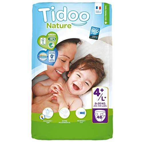 Tidoo Nature - Couches Taille 4+ (144 couches)