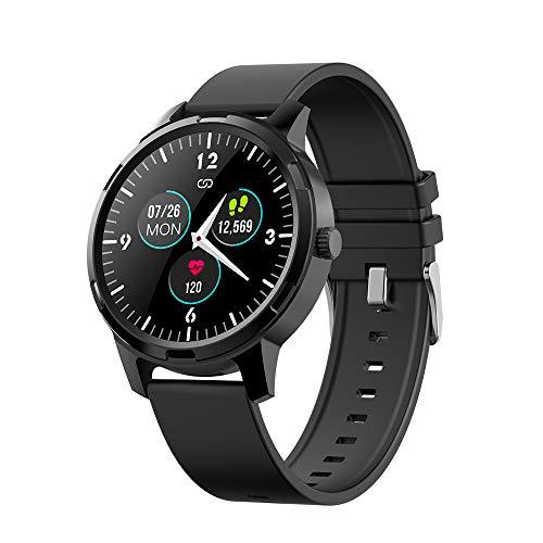 Kolaura Fitness Tracker mit 1,3-Zoll-Touchscreen, Herzfrequenz-Schlafmonitor, Smart Watch, Schrittkalorienzähler und Fitness-Armbanduhr für IOS Andriod