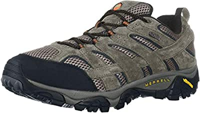 Merrell Men's Moab 2 Waterproof Hiking Shoe, Walnut, 14 M US