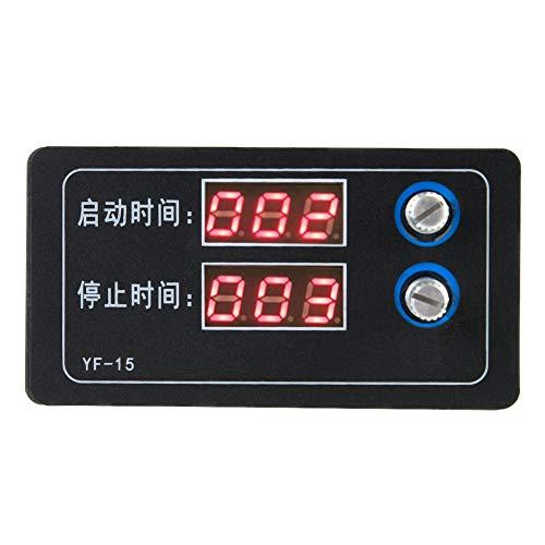 Timer programmeerbare regelmodule, vertragingsverbinding/onderbrekingscyclus countdown regelmodule