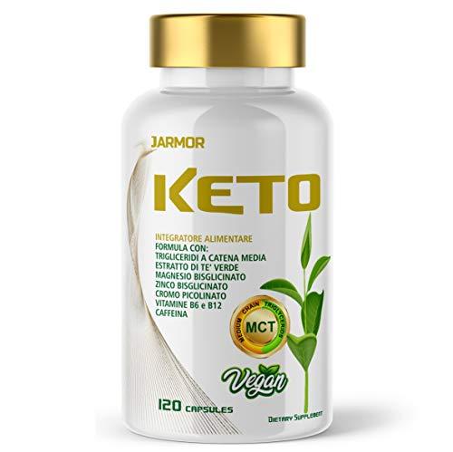 KETO Quemagrasas para adelgazar y rapido | Quema grasas Fat Burner Reductor tè verde Vegano 120 cps