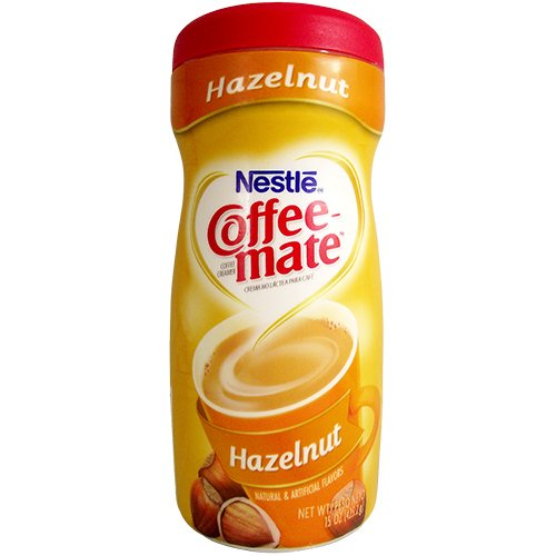 Nestle - Coffee-Mate Hazelnut 15 OZ (425,2 g)