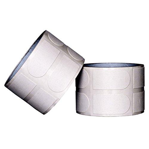 Turbo Grips Bowler 's Tape 500Stück/Deoroller 2,5cm Weiß