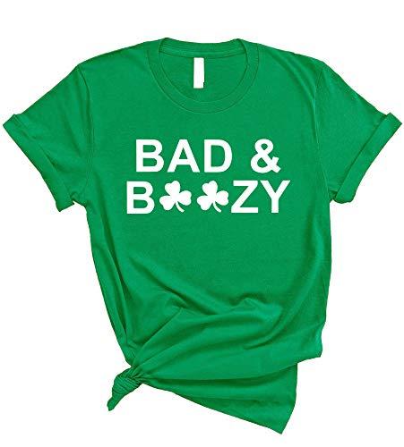 Mens Ben Drankin T Shirt Funny Saint Patricks Day Clover Beer Franklin Irish Tee