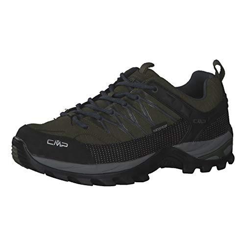 CMP Herren Trekking Schuhe Rigel Low 3Q54457 Torba-Salvia 43
