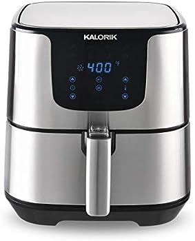 Kalorik 5.3 Quart Digital Stainless Steel Air Fryer Pro XL