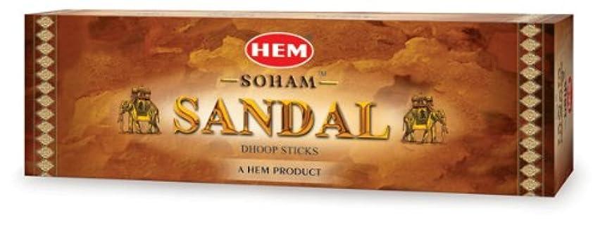 神秘的な草持っているHEM(ヘム) ソーアムサンダル香ドゥープ SOHAM SANDAL DHOOP 12箱セット