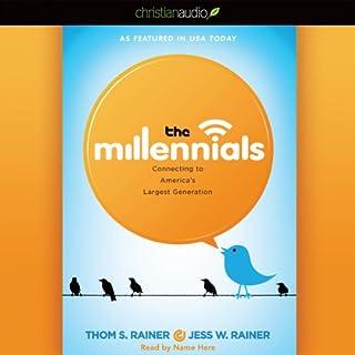 The Millennials audiobook cover art