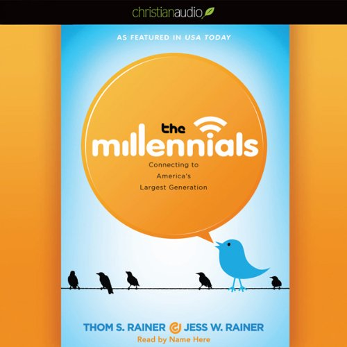 The Millennials audiobook cover art