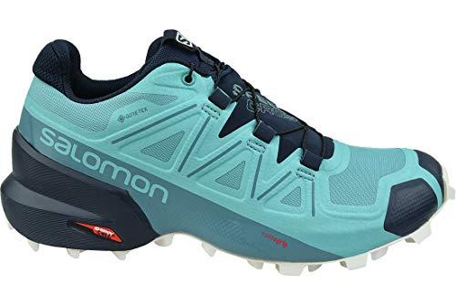 Salomon W Speedcross 5 GTX 407946; Damen laufschuhe; Blau; 38 EU (5.0 UK)