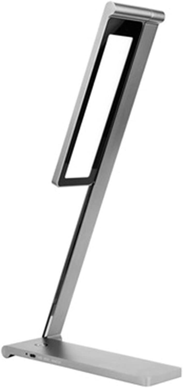 Dimmbare LED-Tischleuchte, Berührungsempfindliche Steuerung, Augenschutz Design-Memory-Funktion Leselicht, Leselicht, Leselicht, 10W Klapptischlampe, Natürliches Licht, Schlafzimmerlampe, Grau B07FMW9G2C | Umweltfreundlich  acb2a1