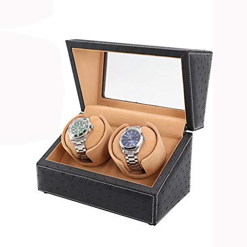 ZIXIXI Ver Agitador Enrollador De Reloj único Motor De Bobinado Automático Agitar Caja De Reloj Caja De Bobinado Automática De Reloj Giratorio Mecánico