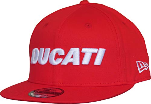 A NEW ERA Gorra 9Fifty Ducati Fa18 Wordmark Rojo M/L