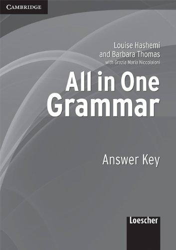 All in one. Grammar. Answer key. Per le Scuole superiori