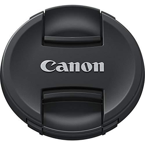 Canon E-77II 6318B001 - Tapa Objetivo Compatible con Lentes Canon, Color Negro