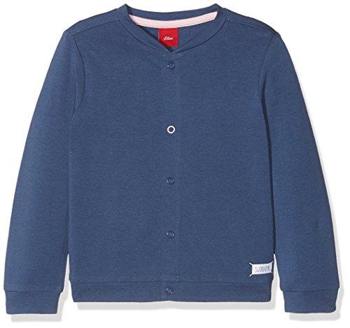 s.Oliver s.Oliver Baby-Mädchen 59.806.43.4935 Sweatjacke, Blau (Dark Blue 5724), 62