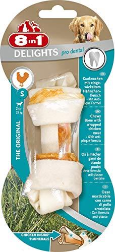 8in1 Delights Pro Dental, gesunde Kauknochen / Kaustangen für Hunde zur Zahnpflege, versch. Größen