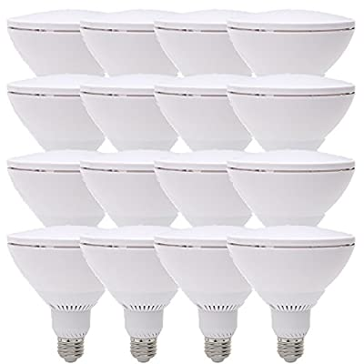 75 Watt Replacement PAR38, LED Light Bulb, Warm White, Dimmable E26 Edison Base