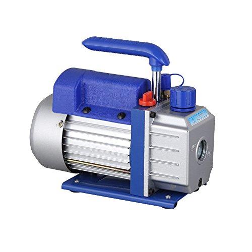 HanSemay - Pompa per vuoto 2,5 CFM 1/4HP professionale per aria condizionata refrigerazione a basso rumore, 180 W