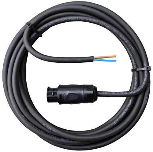 AC Anschlusskabel 5 Meter mit Betteri PV Adapter für Mikrowechselrichter Hoymiles oder Envertech