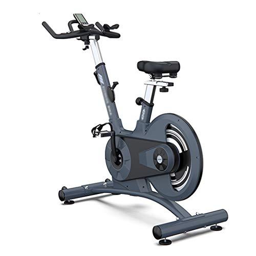 Cyclette per Interni Spinning Bike con Cardiofrequenzimetro Cyclette per Interni con Volano da 20 kg Robusta E Resistente (Color : Blue, Size : 115 * 52 * 130cm)