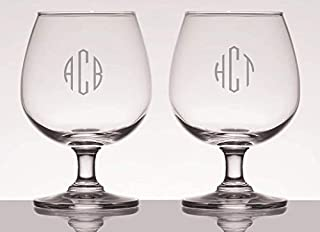personalized brandy snifter