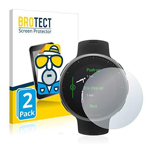BROTECT 2X Entspiegelungs-Schutzfolie kompatibel mit Polar Vantage V2 Bildschirmschutz-Folie Matt, Anti-Reflex, Anti-Fingerprint