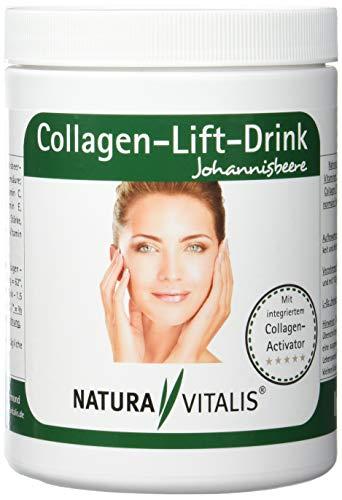 Natura Vitalis Collagen-Lift-Drink mit L-Lysin, 1er Pack (1 x 400 g)