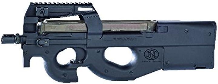 Fucile assalto p90 fn da softair, semiautomatica/automatica, colore: nero (0,5 joules) B01M9JP72S