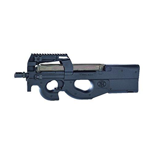 Cybergun - Arma da difesa personale P90 FN da softair, semiautomatica/automatica, colore: nero (0,5 joules)