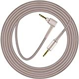 WH-1000XM4 Replacement Cable for Sony WH-H900N WH-H800 MDR-1A MDR-1ABT MDR-1ADAC WH1000XM2 WH-1000XM3 MDR-XB950BT MDR-10R MDR-1000X MDR-ZX770BN MDR-XB950N1 MDR-XB950B1 MDR-100ABN Headphones (Gold)