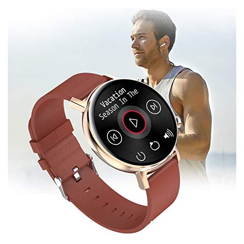 LXF JIAJU Smart Watch Bluetooth Llamada A La Velocidad del Corazón Presión Arterial Sueño Impermeable Pareja Ejercicio Pulsera Pulsera Medición