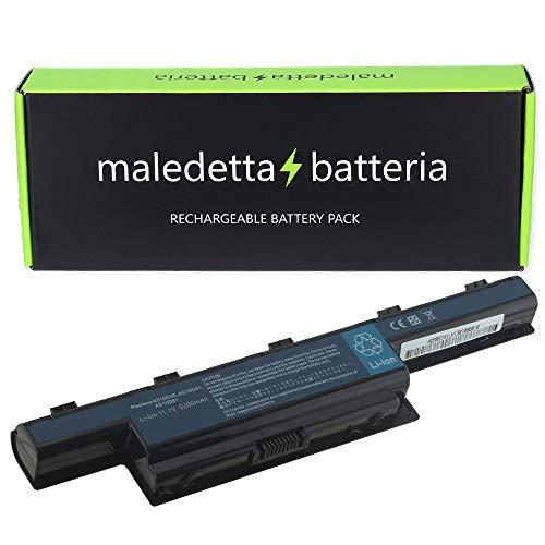 Batteria Potenziata 5200mAh 10.8V per Portatile Acer Aspire 5750G, 5750G-2312G50