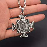 WDBUN Collar Colgante Collar de protección Equidad Justicia Joyas Navidad Día de la Madre día de San Valentín cumpleaños Regalo