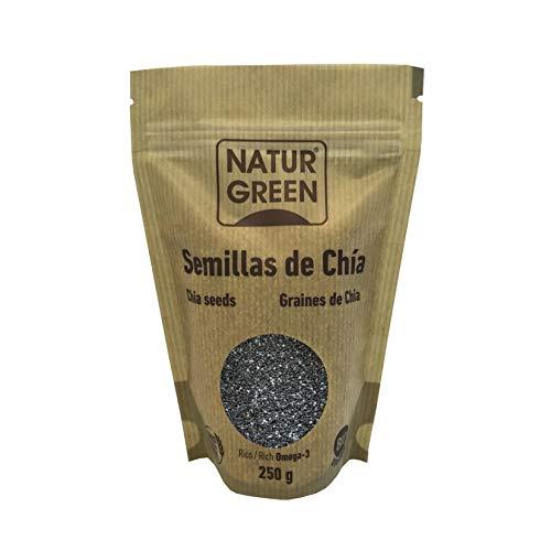 Semíllas de Chía. Orgánicas y con certificado ecológico. 250 gr.