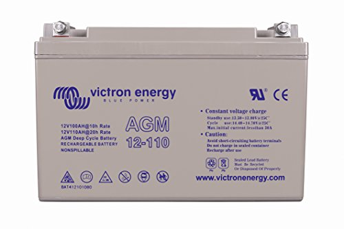 Victron Energy - Batterie à cycle profond AGM 110Ah