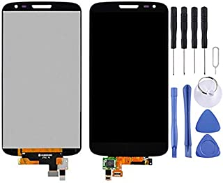HAGUO AYSMG LCD Display + Touch Panel for LG G2 mini D620 / D618(Black) (Color : Black)
