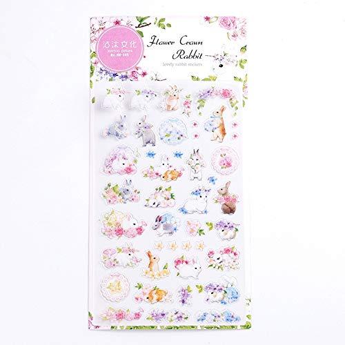 Bureze Creatieve Voedsel Ster kat Flamingo Planet Alice Decoratieve briefpapier Stickers Scrapbooking DIY Dagboek Album Japanse Stick Lable