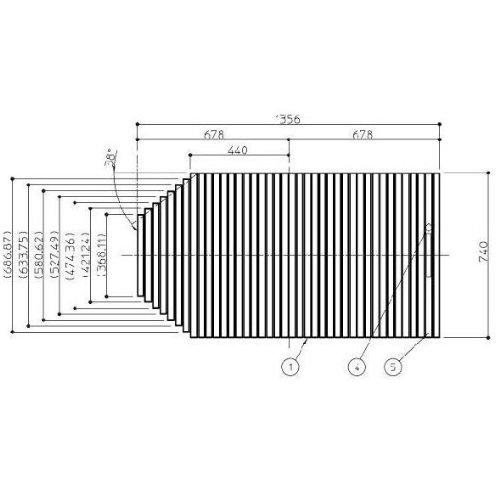 お風呂のふた TOTO 風呂ふた シャッター式 巻きふた 外寸:1356×740mm EKK81003W2 トト