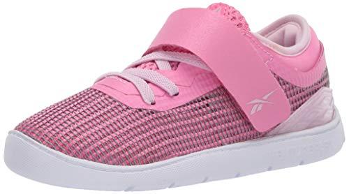 Reebok Baby-Girl's Nano 9 Cross Trainer, Polished Pink/Pixel Pink/Cornflower Blue, 7 M US Infant