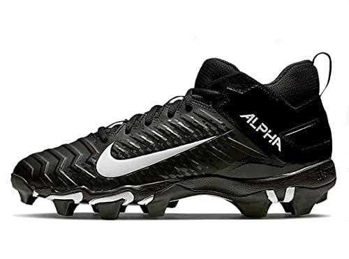 Nike Alpha Menace Shark 2 Big/Little Kids Football Cleat Aq7654-001 Size 4