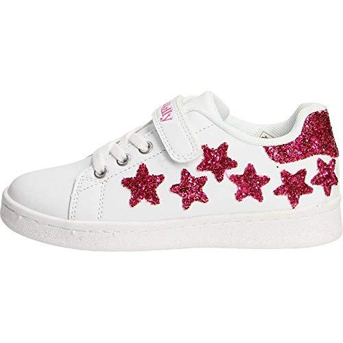 Lelli Kelly Bianco Fuxia Emily Scarpa Bambino Sneakers 9828